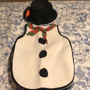 Other - Snowman costume. Kids size 4/5